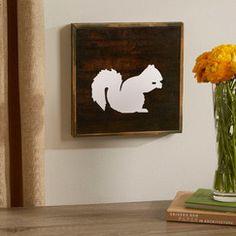 Squirrel Woodland Wall Art