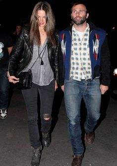 #AlessandraAmbrosio Rocks Level 99 Again! #FashionDesigner #FashionModel  For more details: http://www.designerzcentral.com/blog/people-and-parties/celebrity-style/alessandra-in-level-99/