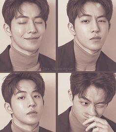 Nam Joo Hyuk Smile, Nam Joo Hyuk Cute, Nam Joo Hyuk Lee Sung Kyung, Jong Hyuk, Nam Joo Hyuk Selca, Nam Joo Hyuk Photoshoot, Nam Joo Hyuk Wallpaper, Joon Hyung, Bride Of The Water God