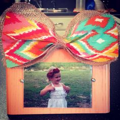 Wooden picture frames w/ bow  https://m.facebook.com/profile.php?id=440140189393948&__user=507872546