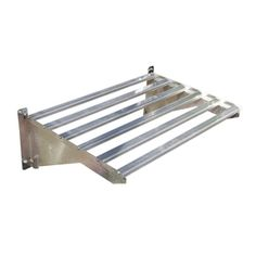 Palram 10.75-in Steel Wall Mounted Shelving --- laundry room for extra hanging of clothes?
