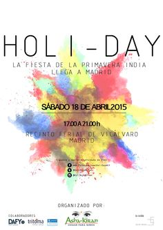 Holi-Day Madrid 2015: Fiesta del color y la primavera hindú en Madrid