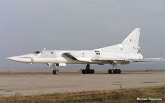 The Tupolev Tu-22M (Russian: Туполев Ту-22М; NATO reporting name: Backfire) is a supersonic, swing-wing, long-range strategic and maritime strike bomber developed by the Soviet Union. Significant numbers remain in service with the Russian Air Force.