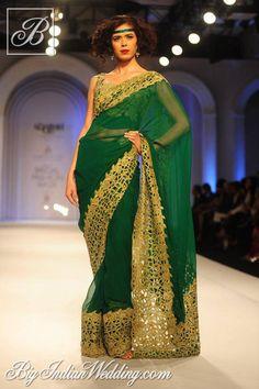Adarsh Gill Aamby Valley India Bridal Week 2013 | Lehengas & Sarees | Bigindianwedding