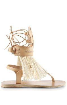 Ancient Greek Sandals for Marios Schwab Low