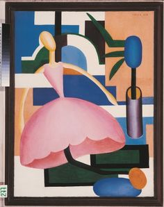 Tarsila do Amaral. A Boneca (1928) | Museu de Arte do Rio