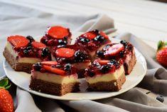 Ovocné kostky - Fitness Recepty Cheesecake, Sweets, Meals, Fitness, Food, Cheesecake Cake, Sweet Pastries, Gymnastics, Meal
