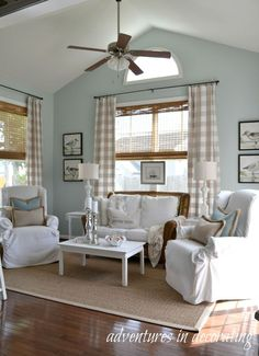 Benjamin Moore Palladian Blue-wall paint color