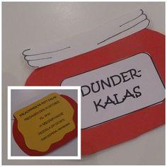 Ett Bamsekalas kräver förstås en ordentlig inbjudan, därför var det ganska självklart att inbjudningskorten skulle utformas som dunderhonungsburkar. Det som behövs är rött, gult oc ...