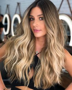 42 Fantastic Dark Blonde Hair Color Ideas , Sandy Blonde ❤️ Try out our stunning ideas of dark blonde hair and get inspiration for great changes and new life to slay in the. Sandy Blonde Hair, Dark Blonde Hair Color, Medium Blonde Hair, Brunette Hair, Hair Color 2017, Blonde Balayage, Hair Highlights, Hair Looks, Hair Inspiration