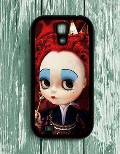 Red Queen Alice In Wonderland Samsung Galaxy S4 Case