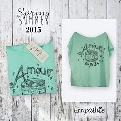 This is Empathie style...Follow us!!  #tshirt #newcollection #fashion #mood #summer #romantic #love
