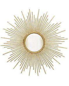sunburst mirror, williams sonoma