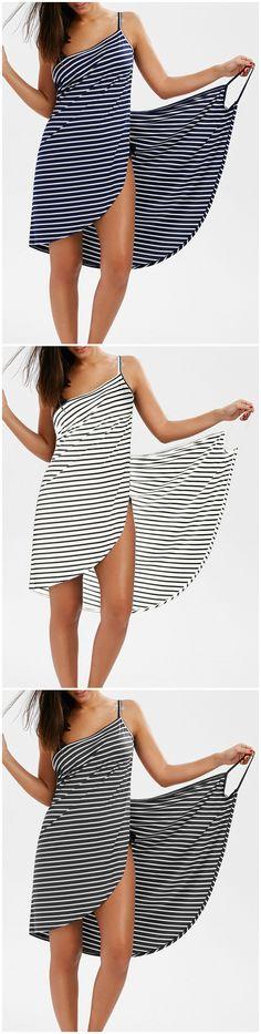 Up to 80% OFF! Striped Open Back Multiway Wrap Cover-ups Dress. #Zaful #coverup #swimwear Zaful, zaful bikinis, zaful swimwear, style, outfits,sweater, hoodies, women fashion, summer outfits, swimwear, bikinis, micro bikini, high waisted bikini, halter bikini, crochet bikini, one piece swimwear, tankini, bikini set, cover ups, bathing suit, swimsuits, summer fashion, summer outfits, Christmas, ugly Christmas, Thanksgiving, Gift, New Year Eve, New Year 2017. @zaful Extra 10% OFF Code:ZF2017