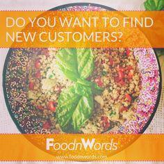 [IT/EN] Hai un ristorante e vuoi trovare nuovi clienti? Organizza i tuoi eventi e gestisci i tuoi clienti! https://www.foodnwords.com/ --- You have a restaurant and do you want to find new customers? Organize your events and manage your customers! https://www.foodnwords.com/