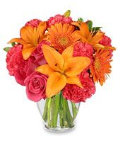 FEELING HOT! HOT! HOT! Bouquet in Denton, TX   BLOOMFIELD FLORAL