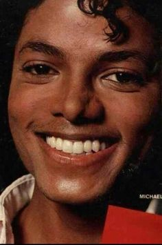 Pretty smile. Everything about him is goodness and love.