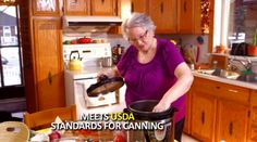 "WARNING: This multi-cooker infomercial shows an actress putting jars in the cooker with the words ""Meets USDA Standards for Canning."" The NCHFP says it DOES NOT!"