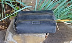 Personalized Toiletry Kit Waxed Leather Toiletry Bag Mens Leather Kits,  Large Bags, 585f2e6bf4