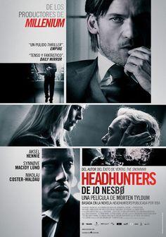 """Cartel de la película """"Headhunters"""" 0109"""
