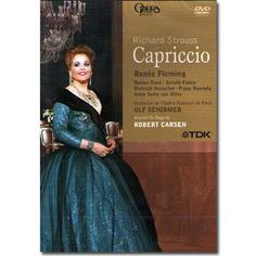 CAPRICCIO DVD Renee Fleming, Richard Strauss, Opera, Diva, Legends, Formal Dresses, People, Shopping, Products