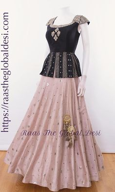 CHANIYA CHOLI 2019 Latest designer & custom-made Lehenga Choli online online.Browse our beautiful designer collection -featuring unique designs & embroidery! Available now in the USA, Canada & Australia! Indian Gowns Dresses, Indian Fashion Dresses, Dress Indian Style, Indian Designer Outfits, Designer Dresses, Indian Outfits, Indian Clothes, Indian Designers, Pakistani Dresses