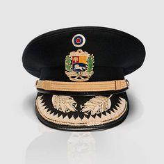 Gorra de plato de oficiales superiores del Ejército Nacional de Venezuela / Venezuelan National Army senior officers' visor cap