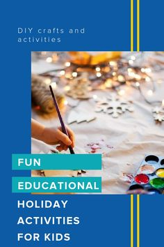 Try these fun educational holiday activities with your kids to keep them busy and learning all season long. Holiday Activities For Kids, Winter Activities, Fun Activities, Christmas Books, Christmas Fun, Holiday Fun, Early Learning, Fun Learning, Magic For Kids