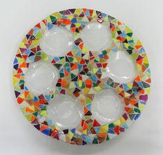 DALIT-GLASS Seder Plate