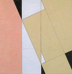 Simplistic Paintings - Spatial Relationship by George Dannatt