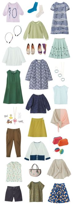 2012 Spring & Summer Collection - Pick Up | Sally Scott