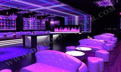 Diseño by U Design en Discoteca MASK, KRION® translucido http://www ...