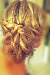Braided upstyle perfect for Brides or Bridesmaids! #braids #upstyle #hairstyle