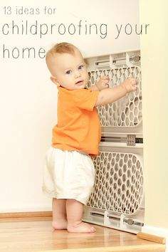13 ideas for childproofing your home