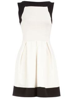 I don't own any white/cream dress. I feel too messy and would ruin it. This one looks really cute though.