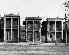 New Orleans Houses, photographed by Walker Evans, 1935.