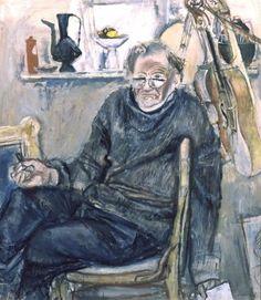 Евсей Моисеенко, Автопортрет