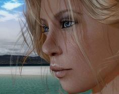 """Check outthe Second Life Pic of the Day,""""Coast Watcher"""", photo by Connie Arida."""