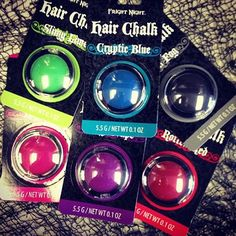 Can't commit to pink? Do it temporary!!!! Call us today to get your Hair Chalk!! 509-326-7100