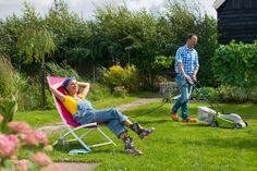 Praxis | Heerlijk in de tuin aan het werk, zodat het er weer mooi uitziet.