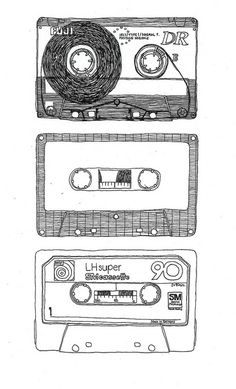 Mixtape by Frida Stenmark, i still have some of these, and listen to them often but...i still miss tapes