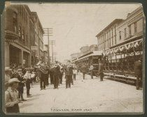 Image Of Opening ceremony for Interurban in New Albany, Indiana, 1903