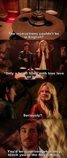 Once Upon a Time S05E20 - Hook & Emma