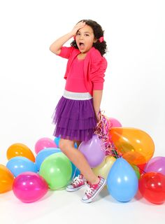 Birthday baloons! What an adorable way to celebrate birthdays! Taken at PictureMe Portrait Studio