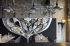 Art bar Door 19 spearheads move to transform Moscow's riverside warehouse district... http://www.we-heart.com/2014/11/10/door-19-artkvartal-moscow/