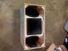 Line Array Speaker Plans Http//forumspeakerplanscom/design Ideas Subwoofer Diy, 12 Inch Subwoofer Box, Subwoofer Box Design, Speaker Box Design, Speaker Plans, Speaker System, Audio System, Horn Speakers, Diy Speakers