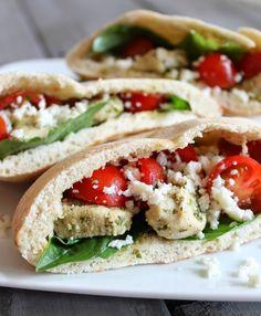 Today's Taste: Caprese Stuffed Pitas