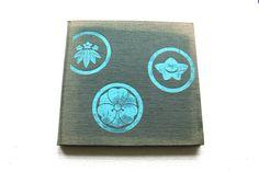 vintage book japanese flower arrangement  creation by SeaZephyr, $15.00