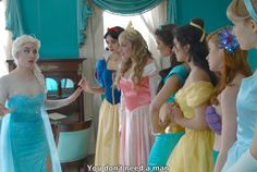 Disney Princesses Don't Need A Man! Watch This 'Frozen' Musical