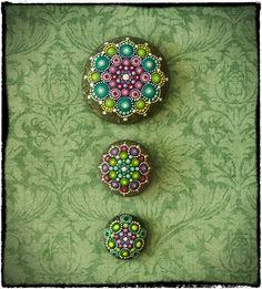 Mandala Stones by Elspeth McLean